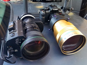 Anamorphic and ENG Lenses on a Panasonic GH2